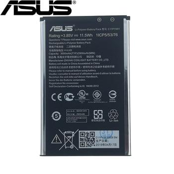 цена на ASUS 100% Original 3000mAh C11P1501 Battery For Asus Zenfone 2 Laser Zenfone2 Laser ZE601KL Selfie ZE550KL ZE600KL ZD551KL