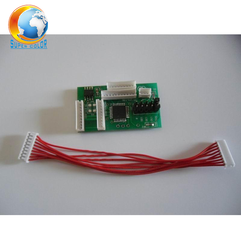все цены на Good Quality Free Shipping For HP 500 800 120 130 90 100 Cartridge Chip Decoder онлайн
