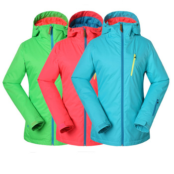 New style outdoor skiing GSOUSNOW women's skiing suits warm waterproof and windproof women's hiking sikiing jacket