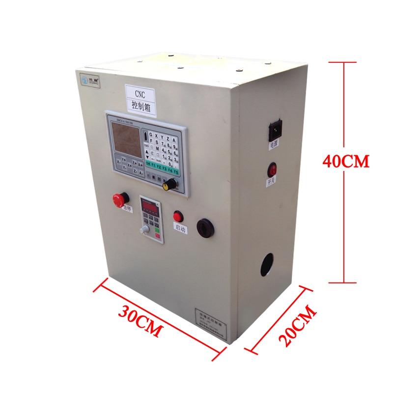 OFFline cnc system VFD 2.2KW 4axis DSP Offline control box for cnc machine diy richauto a11 dsp controller for cnc router control dsp a11s a11e board data line