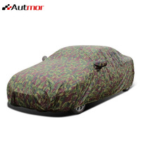 AUTMOR Car Covers Size S/M/L/XL/XXL Indoor Outdoor Full Camouflage Car Cover Sun Snow Dust Rain Resistant Protection