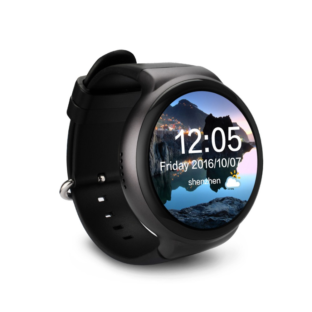 Android Smart Watch IQI I4 support 3G WiFi GPS Heart rate monitor with 1.39 inch AMOLED Display 512MB RAM 8GB ROM Clock Phone