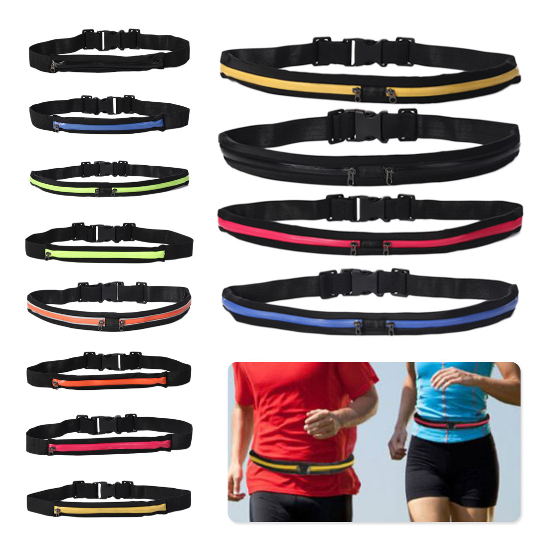 Sports Bag Running Sports Pockets Invisible Personal Phone Single Bag Double Bag Activities To Send Gifts Phone Belt Bag