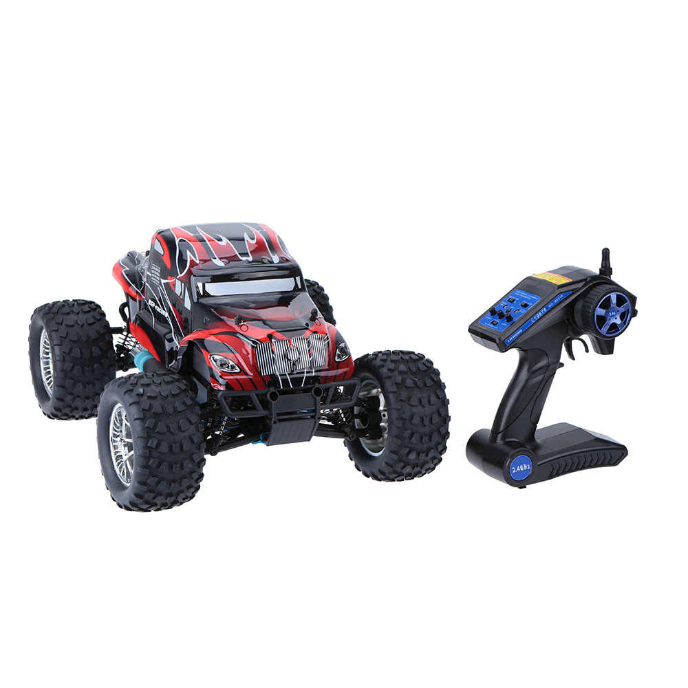 Free shipping RC Monster HSP 94188 Nitro 4WD 2 4GHz 1 10 RTR RC CAR Big