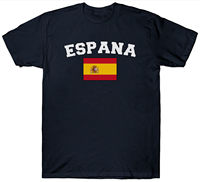 LEQEMAO ESPANA FLAG T SHIRT SPANISH SPAIN BULL Top Tee Cotton Humor Men Crewneck New Men