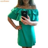 Giraffita Casual Women Dress Summer Sleeveless Ruffled Color Solid Vestidos Fashion Brand Style Girls Female New Dresses