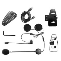 KONNWEI FM Radio GPS Bluetooth 3 0 Intercom Professional Motorcycle Intercom D2 500m Bluetooth Motorbike Helmet