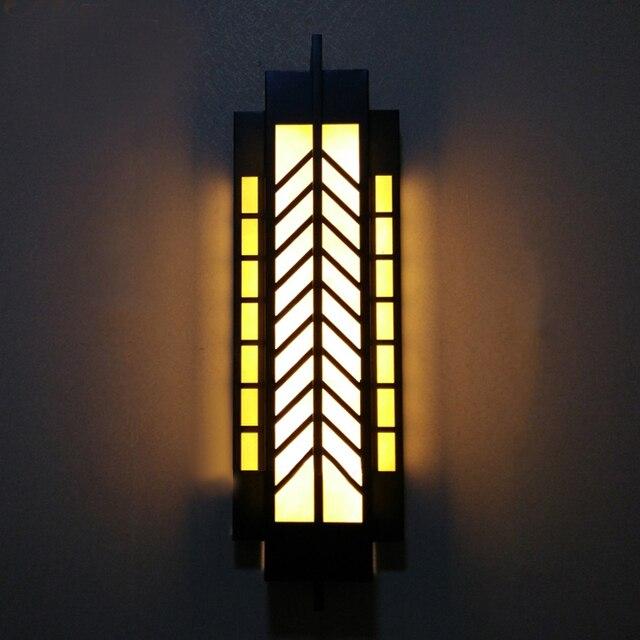 Garden Lamp Post Lights Gate Outdoor Pillar Lights Hotel Lobby Wall Sonce  Led Facade Lighting Waterproof