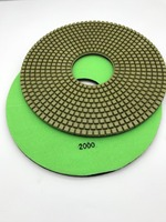 400mm Wet Diamond Polishing Pad For Concrete Cement 10mm Thickness
