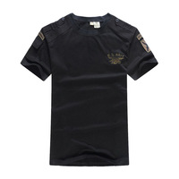 US Mens Airborne Military T Shirt Navy Seals Special Forces Commando Camouflage Combat Tactical T Shirts