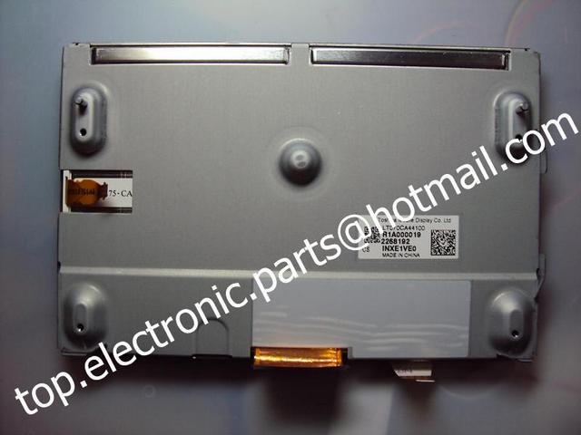 7 ''pulgadas para g37 2010 coche gps de navegación lcd panel de exhibición de pantalla con digitalizador de la pantalla táctil de dhl envío libre del ccsme