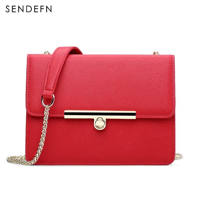 Sendefn Модные женские кожаные сумки женские сумки на плечо дамы Satchels женские сумки Crossbody сумки