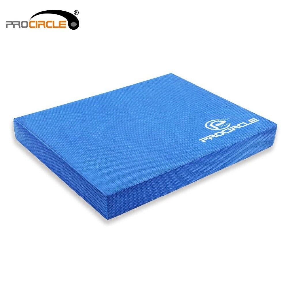 ProCircle Coussin D'équilibre-Bleu Non Glissé Tapis De Yoga-Doit avoir pour Les Yogis Danseurs et Athlètes-Parfait pour formation de base et physique