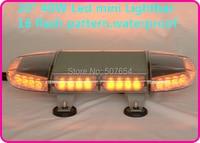 Higher star 50cm 40W Led car Mini emergency lightbar,warning lights for police ambulance fire truck,16flash,waterprrof IP67