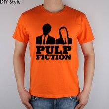 PULP FICTION WARUM SO ERNST QUENTIN FILM kurzarm T-shirt Top Lycra Baumwolle Männer t-shirt New DIY Stil