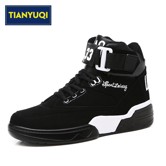 TIANYUQI Men Professional Basketball Shoes Damping Basketball Shoes Outdoor Athletic Sports Sneakers Antislip Basketball