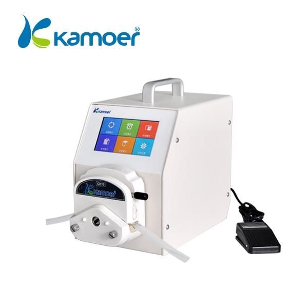 Kamoer Peristaltic Pump Small Bottle Filling Machine In