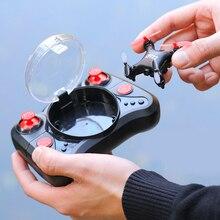 Дроны с камерой HD Wi Fi Fpv системы игрушечные лошадки Professional селфи мини Drone RC бесщёточный вертолет для детей вертолет VR очки