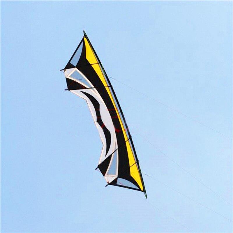 Livraison gratuite de haute qualité 280cm grand quad ligne cascadeurs cerfs-volants pour adultes bar ligne jouets de plein air volant albatros kites usine