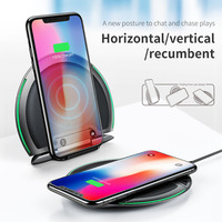 Baseus Folding Desktop 10W QI Wireless Charger For IPhone X 8 Plus 7 Samsung S9 Huawei