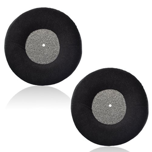 1 pasang warna hitam baldu penggantian earpad telinga pad Kusyen untuk AKG k 240 studio headphone