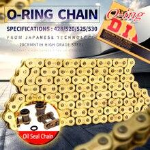 O ring O-ring seal DID 520 VX 120L 120 link chain for Universal honda yamaha kawasaki suzuki ATV dirt bike off road motorcycle