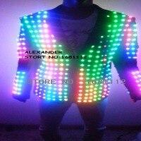 LED Costume /LED Stage clothes/ Luminous costume/LED suit