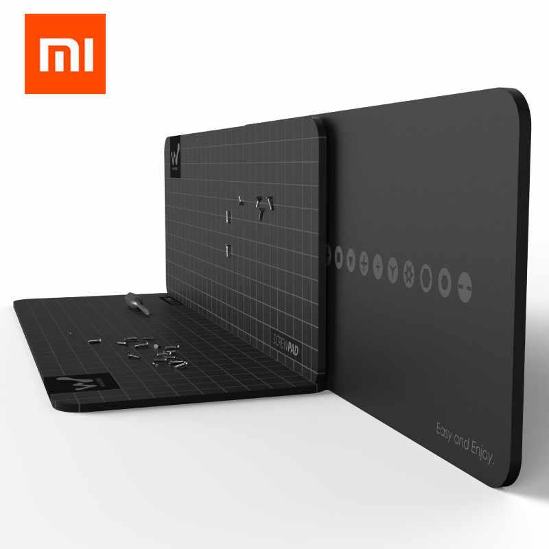 Xiaomi mijia wowstick wowpad magnetyczne Screwpad, stanowisko służbowe śruba pamięci podkładka pod talerz dla zestaw śrubokrętów 1 P + 1FS elektryczny śrubokręt