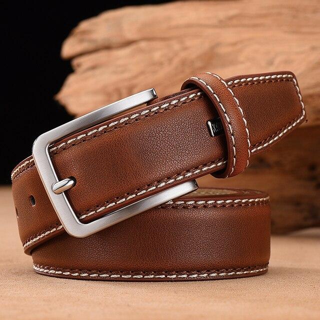 Fashion Stitched Leather Belt 8