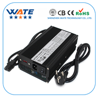 29.4V 17A Charger 7 series 24V battery charger for electric bike Aluminium Alloy with Fan