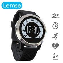 Lemse f69 ip68 impermeable smart watch profesional modo inteligente de ritmo cardíaco saludable pulsera para ios android teléfono