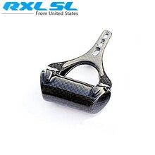 RXL SL hiçbir LOGO tam karbon Fiber bisiklet gidon hız göstergesi stentler bisiklet kronometre koltuk bilgisayar desteği/bilgisayar tutucu