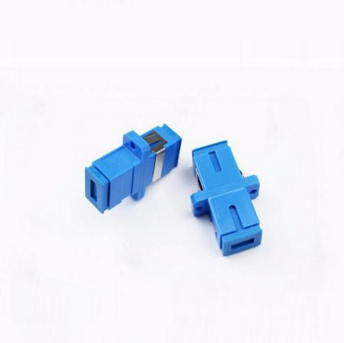 SC UPC Simplex mode Fiber Optic Adapter C Optical fiber coupler SC fiber Flang SC UPC Connector in Fiber Optic Equipments from Cellphones Telecommunications