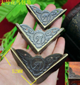 52MM Antique bird gift wrap angle corners wooden box wrap angle iron furniture offer purses angle right angle corners
