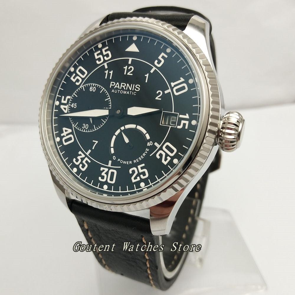 45 ミリメートルパーニスダイヤルパワーリザーブ ST2530 自動メンズ腕時計  グループ上の 腕時計 からの 機械式時計 の中 3