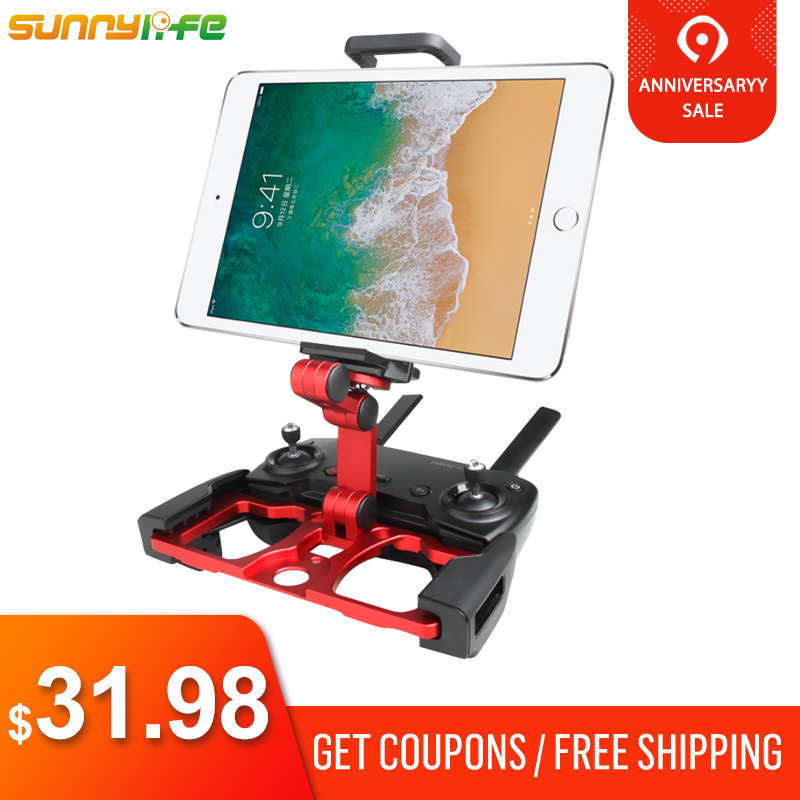 Sunnylife DJI Mavic Pro 2 Air Spark Holder Mount w Strap Stand Base for tablet iPad
