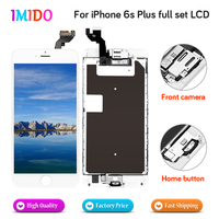 3PCS/LOT For iPhone 6S plus LCD Display Touch Screen Digitizer Assembly Home button+Front camera+3D touch free DHL shipping