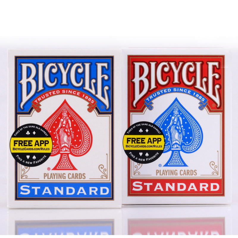 New Bicycle Poker Red/Blue Bicycle Regular Playing Cards Rider Back Standard Sealed Decks Magic Playing Cards kinugawa turbo oil