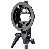 Godox S Type S C Bracket Comet Mount Holder Photo Studio Accessories For Speedlite Flash Snoot