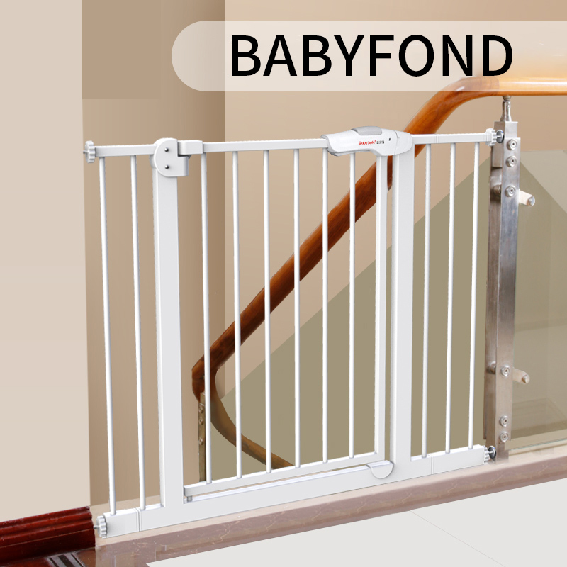 Babysafe Baby Child Safety Door Bar, Stairs, Guardrail, Pet Fence, Dog Fence Bar Isolation Door. railing stairs balcony safety protecting net baby safety fence child safety products 2 3 meters white color
