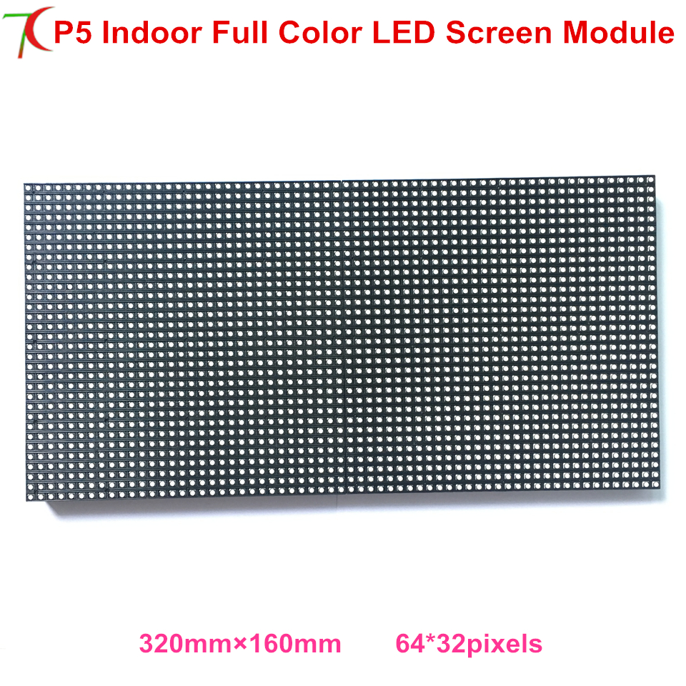High Brightness P5 Indoor 8scan Full Color Led Panel  For Rental Cabinet Led Display Led Video Wall