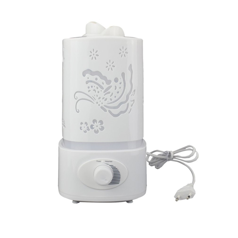 Ultrasonic Aroma Diffuser Mist Maker Compact Air Humidifier for Household Use Great Home Decor with LED Colorful Light 301