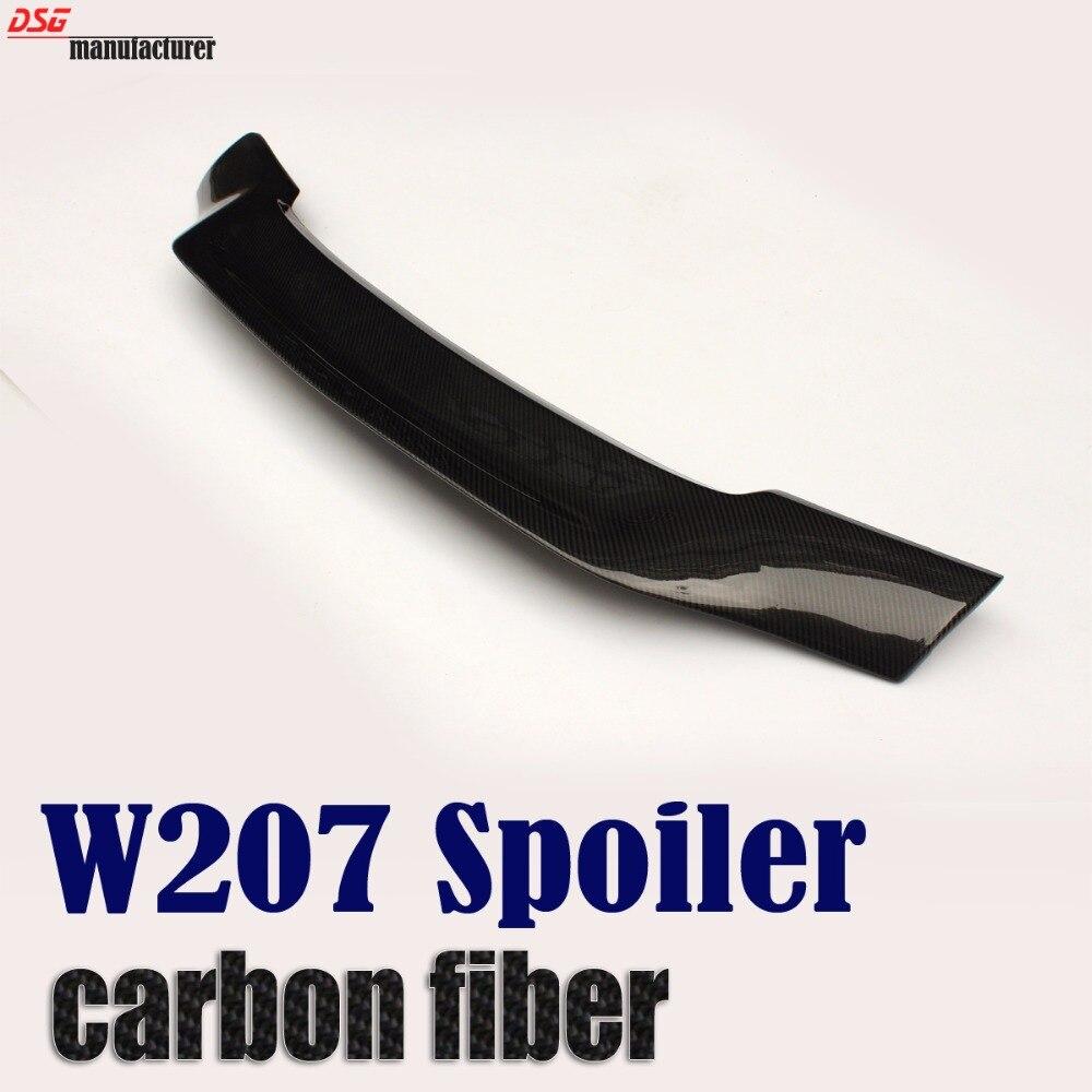 W207 углеродного волокна задний спойлер для benz e class 2 купе Кабриолет e250 e350 e550