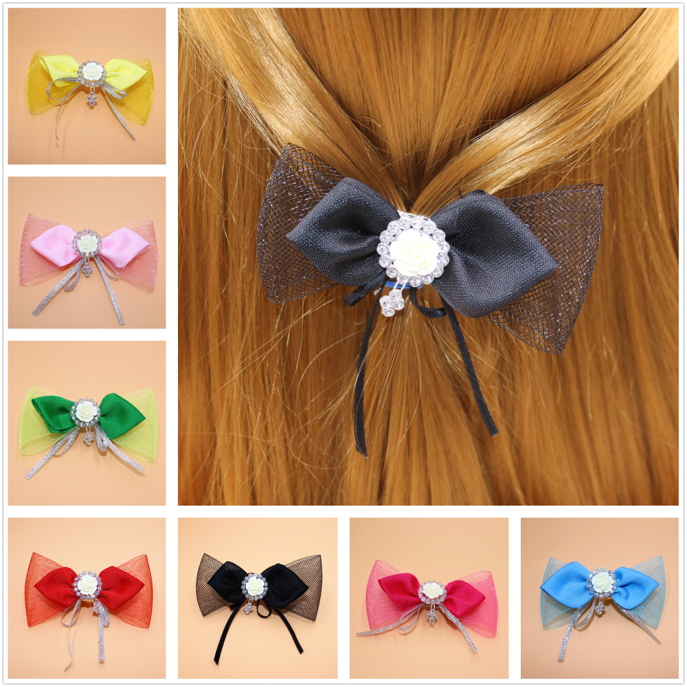 In Quality Obliging Korea Ribbon Bunny Hair Accessories For Girls Hair Bands Rabbit Ears Hairband Flower Crown Headbands Hair Bows Excellent
