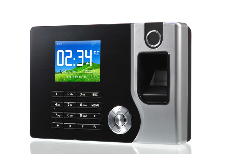 AC071 TCP/IP Biometric Fingerprint Time Clock Recorder Attendance Employee Electronic English Punch Reader Machine biometric fingerprint access controller tcp ip fingerprint door access control reader