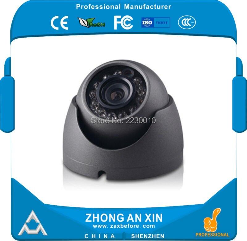720P HD Analog High Definition IR night vision Metal Mini Dome Car cabin camera Vehicle security camera Bus Taxi camera