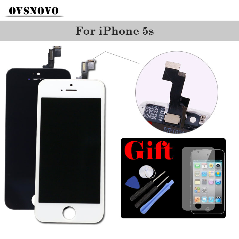 Display Assembly For IPhone 4 4s LCD Touch Screen Digitizer Replacement Panel For IPhone 5 5s
