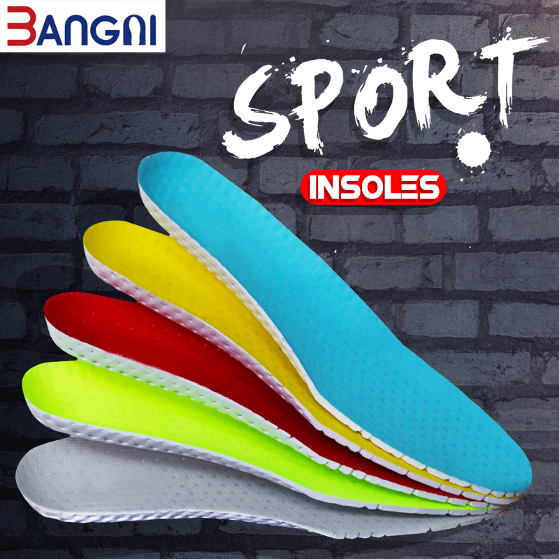 3ANGNI Running  Light Comfortable Breathable Sport EVA Arch Support Free Size Insoles Accessories For Women Men Shoes-in Insoles from Shoes