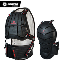 Motocross Body Armor Achilles SCOYCO AM04 Motorcycle Protective Gear Chest Back Protection SWX ATV MX