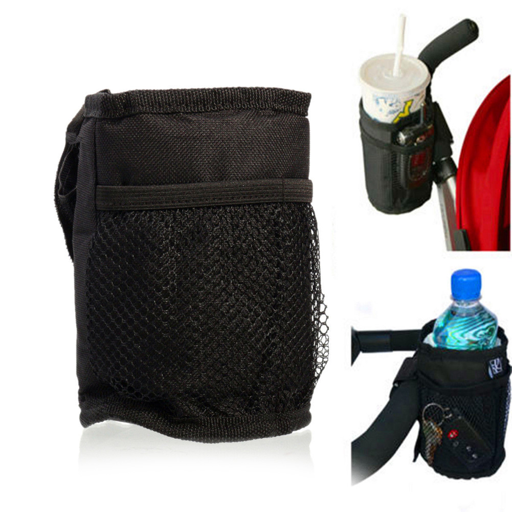 Baby Stroller Bags Special Pendant Mug Cup Holder Waterproof Design Cup Bag Strollers Insulated Buggy Organizer